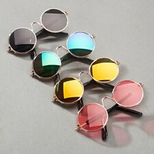 Pet Cat Dog Puppy Kitty Round Sunglasses super Cute Eyeglasses for Stage/Prop