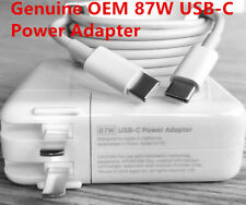 Genuine 87W USB-C Power Adapter Macbook Pro 2016 later with Charger cable A1719