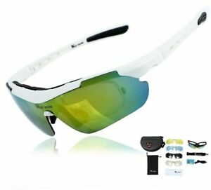 Cycling Glasses Polarized 5 Lens Outdoor Bicycle Sunglass MTB Men Women Eyewear