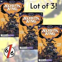 🚨💀 🔥 DARK NIGHTS DEATH METAL ROBIN KING #1 LOT OF 3 Riley Rossmo Cover A NM