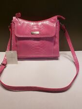 9c8e1ca721e Liz Claiborne Bright Pink Shoulder Cross Body Purse Retails for