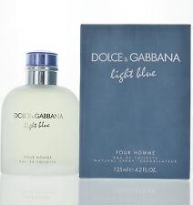 Light Blue by Dolce & Gabbana 4.2 oz Eau De Toilette Spray New in Box for Men
