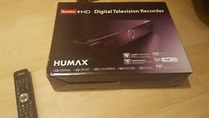 Humax hdr fox t2 freeview recorder