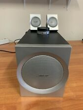 Bose Companion 3 Series Subwoofer & Desktop speakers TESTED WORKING USA SHIPPER