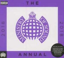 THE ANNUAL 2018 various (3X CD, compilation, mixed) ministry of sound, house,