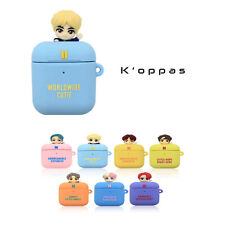 Official BTS Figure Jelly Airpods 1 & 2 Case Cover 100% Authentic KPOP Goods