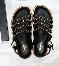CHANEL Women's Satin Sandals and Flip