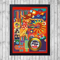 LOS PLANETAS POP CUADRO CON GOLD O PLATINUM CD EDICION LIMITADA. FRAMED