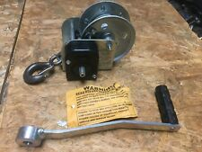 Shelby 5351 Industrial Trailer Boat Winch 2 Way with Brake 1000 lb capacity