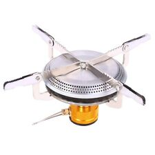 Portable Gas Burner Mini Stove Head Stainless Steel Outdoor Camping Hiking US