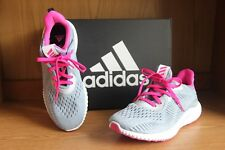Adidas Alphabounce EM J  Running Shoe Grey/Pink  Size 4.5  BY3424