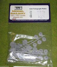 Dapol TELEGRAPH POLES 1/76 Scale scenery Kit 00/HO C24