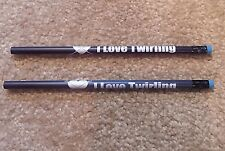 BATON TWIRLING MAGIC PENCILS CHANGES COLOR WHEN YOU HOLD PENCIL TWIRLERS GIFT