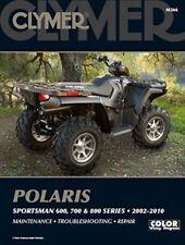 Clymer Repair Service Manual Polaris Sportsman 600,700,800 02,03,04,05,06,07-10