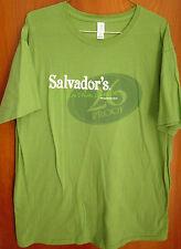 SALVADOR's Ready Drink Cocktails lrg T shirt 26 Proof lime green tee OG booze