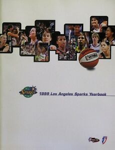1999 Los Angeles Sparks Yearbook - Softcover 72 Pages -  Lisa Leslie