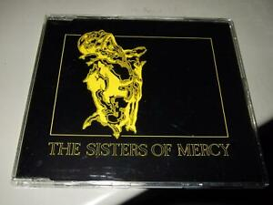 THE SISTERS OF MERCY : UNDER THE GUN PROMOSTICKERED PROMO CD SINGLE 1993 EW