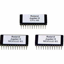 Roland Jupiter 6 CPU A6 and 2 x Module B3 EPROM Upgrade Chip Set Jupiter6