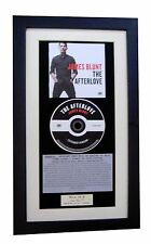 JAMES BLUNT The Afterlove CLASSIC CD GALLERY QUALITY FRAMED+EXPRESS GLOBAL SHIP