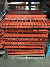 """PALLET SUPPORTS for 42"""" deep Pallet Racking - 38"""" Interlake Roll-in Style USED"""