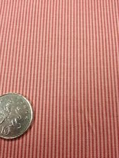 100% cotton quilting craft Fabric Stof Basic Dusty Pink Stripe