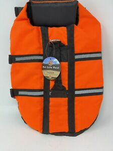 PET WORLD Dog Life Preserver/Floatation Vest Size: Large Brand New with Tags