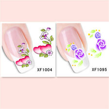 2Sheet/Exquisite Fashionable Hot DIY Nail Stickers  XF1004+1095