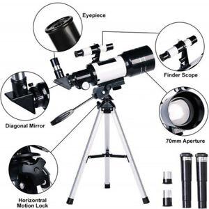 Astronomisches Teleskop Mit Stativ 150X Zoom HD Monokulare Mond im Freien 300mm