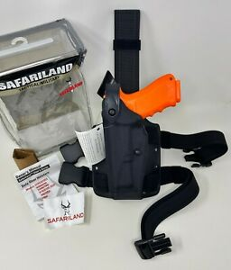 Safariland® 6004USN SLS Tactical Cordura® Black LH Holster, GLOCK 17 19 22 23