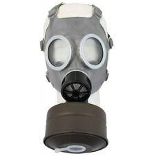 Polnische Schutzmaske ABC Gasmaske MC1 grau neuwertig Filter MS-4 Tasche 627642