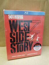 West Side Story (Blu-ray/DVD, 2011, 4-Disc Set, 50th Anniversary Edition With B…
