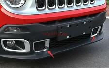 For Jeep Renegade 2015 2016 ABS Front grille cover 2pcs/set