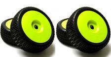Neumáticos, llantas y bujes ruedan verdes para vehículos de radiocontrol Universal