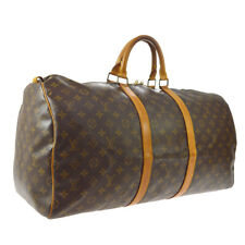 LOUIS VUITTON KEEPALL 55 TRAVEL HAND BAG PURSE M41424 MI1920 A53113
