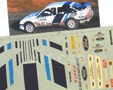 "DECAL CALCA 1/43 FORD SIERRA ""MOTORSPORT"" CARLOS SAINZ - RALLY RAC 1988"