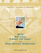 2016 National 5-Digit Zip Code and Post Office Directory by U.S. Postal...