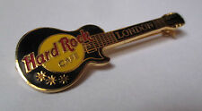 Broche Hard Rock Cafe London - guitare noire