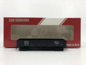 Red Caboose RR-35003-1 HO B&M Drop Bottom Gondola #92008 LN/Box