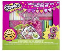 Shopkins Ultimate Create Your Own Scrapbook Set - Ages 6+ NEW SEALED