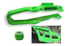 TM Designworks Chain Slide-N-Guide Mini Kit Green KAW-085-GR Kawasaki KX85/KX100