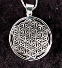Flower of life Pendant - Geometric Pendant Flower of Life Sacred Universe