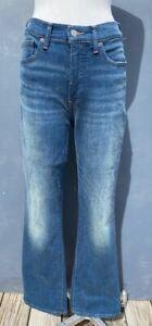 """LUCKY BRAND """"BRIDGETTE"""" HIGH-RISE BOOT-LEG BLUE JEAN SIZE 10/30 REGULAR-$99"""