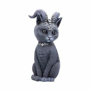 Pawzuph 11cm (Small) Pawzuph Horned Occult Cat Figurine By Cult Cuties
