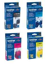 NEW Genuine Brother 4 pack Ink Cartridge LC-980 Printer 145C 165C 195C 250C 290C