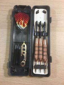 Fat Cat Darts Set Flames w/ Case 22 - 23 Grams - C