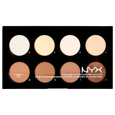NYX Palette contour Contours Gamme Maquillage Highlighter