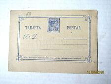 1875 UNUSED Fine! Spain Postal Card Tarjeta Postal