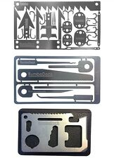 Credit Card Tool Set(3 TOOL Pack)Ultimate Prepper Survival 6pc Picking Tools Kit