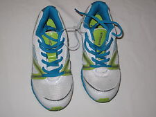 NWT REEBOK ultimatic shoe BOY GIRL youth Size 3 white, green, blue