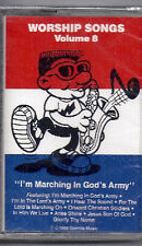 Worship Songs 8-Marching in God's Army-puppet/children's ministry music cassette